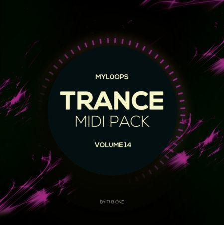 Myloops Trance MIDI Vol. 14 by TH3 ONE