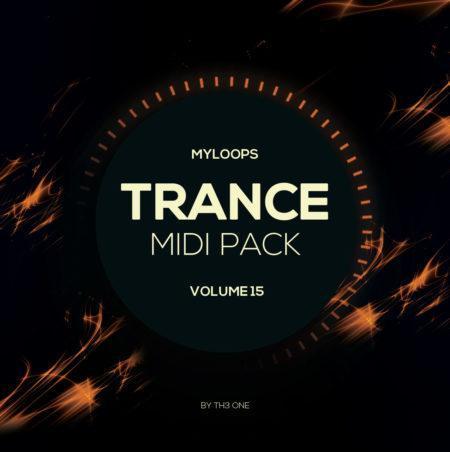 Myloops Trance MIDI Vol. 15 by TH3 ONE