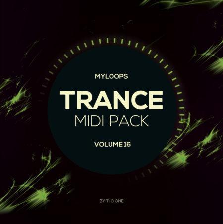 Myloops Trance MIDI Vol. 16 by TH3 ONE