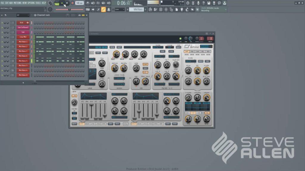 Steve Allen Trance Masterclass 2021 - Part 3 (Mid Bass) screenshot 1
