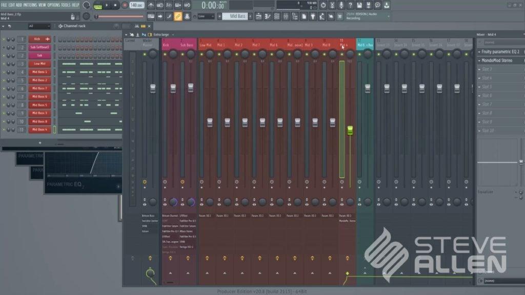 Steve Allen Trance Masterclass 2021 - Part 3 (Mid Bass) screenshot 2