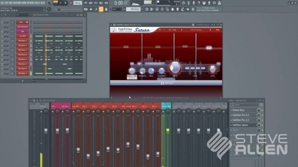 Steve Allen Trance Masterclass 2021 - Part 3 (Mid Bass) screenshot 3