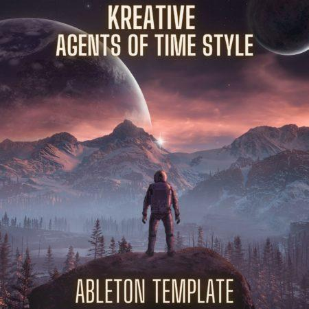 Kreative - Agents of Time Style Ableton 9 Melodic Techno Template
