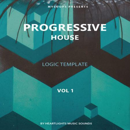 Progressive House Template Vol. 1 (Logic Pro X)