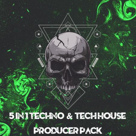 5 in 1 Techno & Tech House Producer Pack