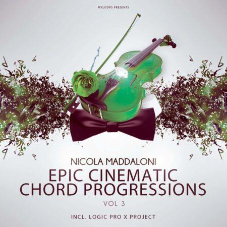 Nicola Maddaloni Epic Cinematic Chord Progressions Vol 3 (Inc Logic Pro X Demo Project)