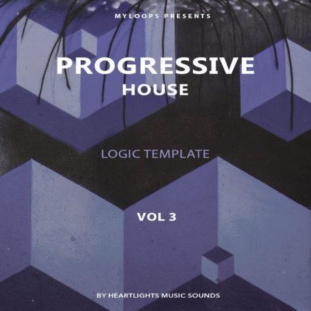 Progressive House Template Vol. 3 (Logic Pro X)