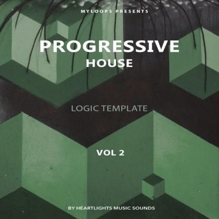Progressive House Template Vol. 2 (Logic Pro X)
