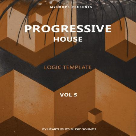 Progressive House Template Vol. 5 (Logic Pro X)