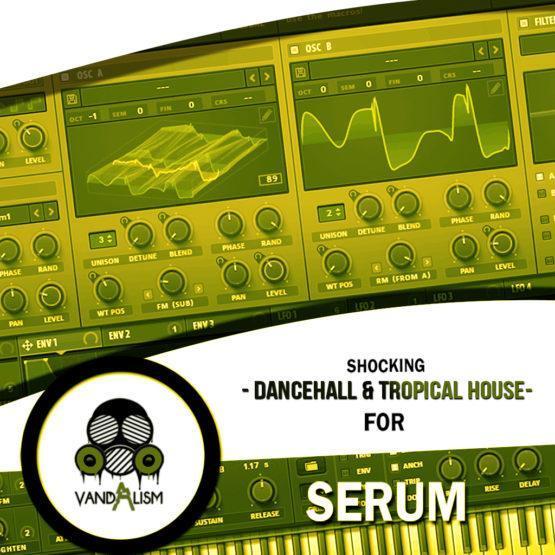 Shocking Dancehall & Tropical House For Serum