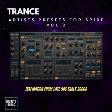 Trance Artists Presets For Spire By Sunset Vol.2