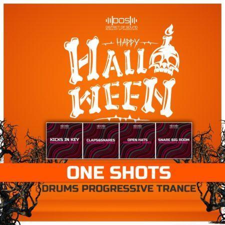 Drums One Shots - Progressive TRANCE - (Hallowen Edition Bundle)