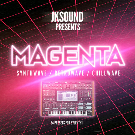 Magenta Synthwave for Sylenth1