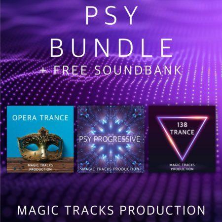Psy Bundle (3 Ableton Live Templates+FREE Soundbank)
