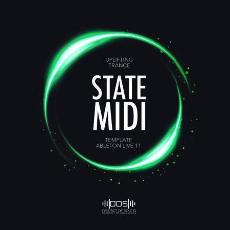 State MIDI - Uplifting Trance - Ableton Live 11 TEMPLATE