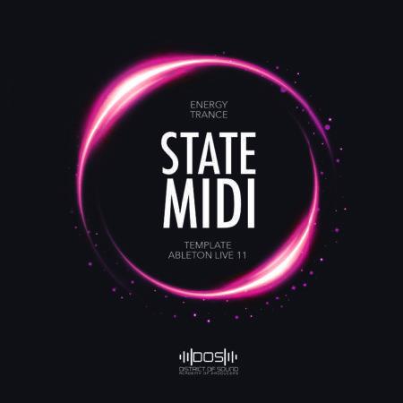 State Midi - Energy Trance - Template Ableton Live 11