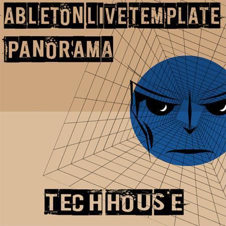 Tech House Ableton Live Template (Panorama)