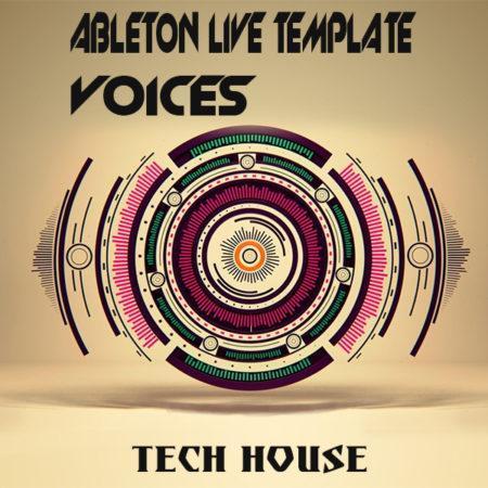 Tech House Ableton Live Template (Voices)