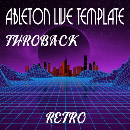 Retrowave Ableton Live Template (Throwback)