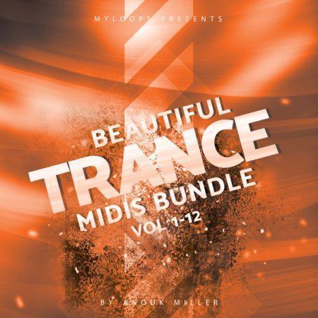 beautiful trance midis halloween bundle